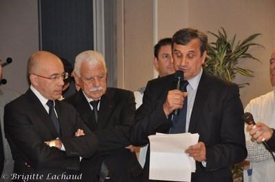 GALETTE DES ROIS AU CONSEIL GENERAL DES ALPES-MARITIMES