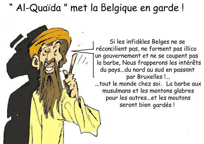 DESSIN DE PRESSE: Menaces sur la Belgique