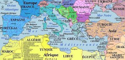 La Méditerranée en ébullition
