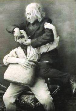 Carte postale de France - Métier, dentiste ou arracheur de dents, scène humoristique - Années '20
