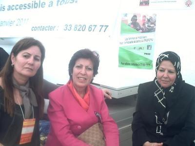 Des membres de la délégation algérienne. photo (c) Elhadji Babacar MBENGUE