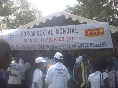 Un stand du forum. Photo (c) Elhadji Babacar MBENGUE