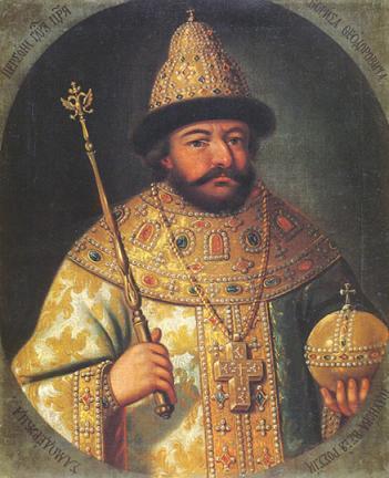 Boris Godounov tsar de Russie