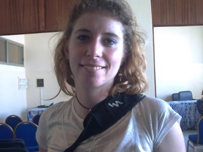 Christine Vanden, membre CADTM (C) Elhadji Babacar MBENGUE