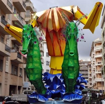 LE CARNAVAL DE NICE 2011 PREPARE SON ARRIVEE ...