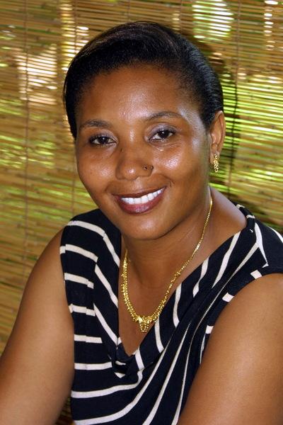 Madame Dassami Faharidine, déléguée régionale de l'ADIE Mayotte (c) Photos ADIE