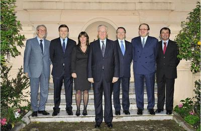 Photo du nouveau Gouvernement Princier (c) CDP