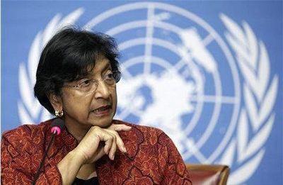 La Haute commissaire de l'ONU aux droits de l'homme, Navi Pilla. Photo (c) SIm Sanith