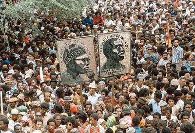 Quand souffle le 'vent du changement par Afrique Renouveau