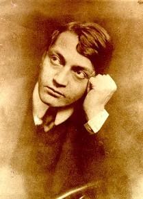 Le poète hongrois Endre Ady, 22 novembre 1877 - 27 janvier 1919, photo d'un auteur inconnu