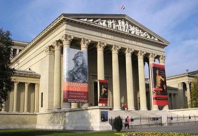 Musée des Beaux-Arts de Budapest, travail personnel Vadaro, 2006