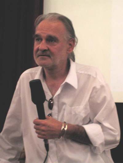Bela Tarr au Festival du Film de Sarajevo, parlant de son film