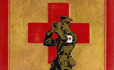"Couverture du livre ""Rhymes of a Red Cross Man"", 1916. (c) Charlotte Service-Longépé"