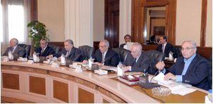 3e réunion du Cabinet ministériel Photographie officiel du gouvernement