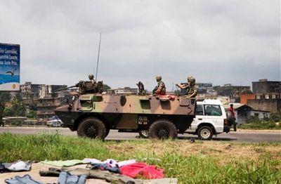 Force International à Abijan Photo (c) Clément Guillaume