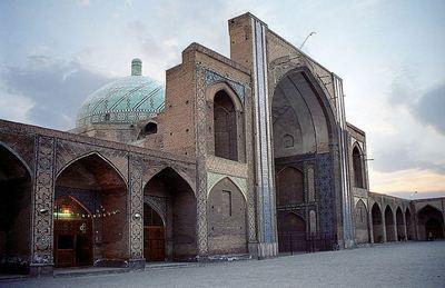 Mosquée du vendredi à Qazvin (c) Philippe Chavin