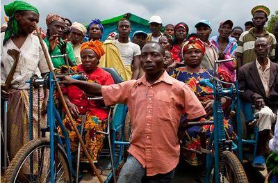 Congo Kivu  ils sont venus, ils sont tous là, les éclopés de Rugariphotos (c) André Thiel