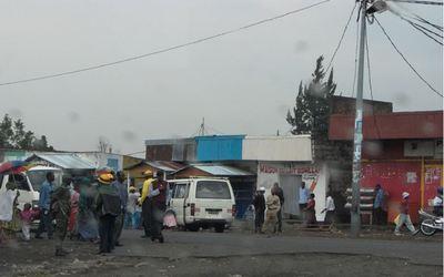 Une rue de Goma (c) Denphie