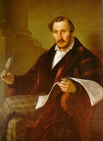 Portrait de Gaetano Donizetti au Musée du Teatro alla Scala - image du domaine public