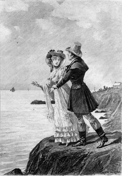 Couverture du roman Béatrix d'Honoré de Balzac (1839) par Adrien Moreau (1840-1906), Philadelphia, George Barrie & Son, 1897 (c) DR