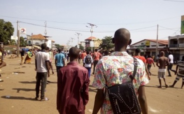 Manifestation du 15 novembre 2018 à Conakry (c) Boubacar Barry