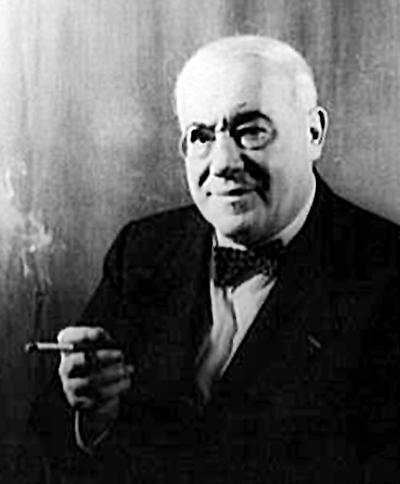 Portrait de Ferenc Molnár, réalisé par Carl Van Vechten le 16 février 1941