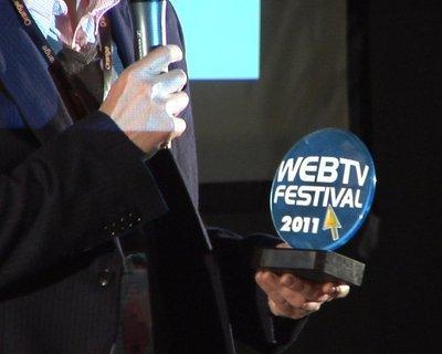 Trophée du Web TV Festival 2011. Photo (c) WEB TV FESTIVAL