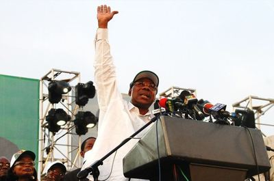 Boni Yayi, le 29 janvier, le jour de sa déclaration de candidature. (c) Polycarpe TOVIHO