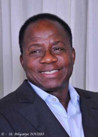 Adrien Houngbédji, candidat de l'Union fait la Nation (opposition). (c) Polycarpe TOVIHO