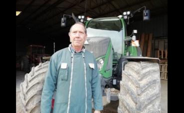 Philippe Hincelin, agriculteur marnais. Photo (c) M. Cugnot