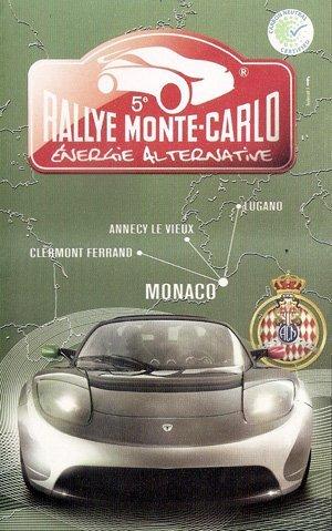 EVER MONACO et RALLYE MONTE-CARLO des véhicules à énergie alternative