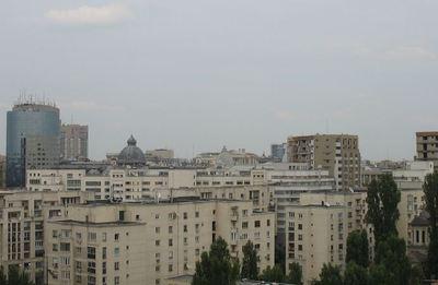 Vue en hauteur de Bucarest. Photo (c) Adriana Trifan