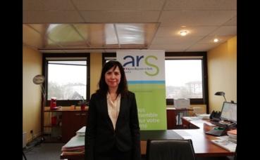 Sandrine Piroué, déléguée territoriale de l'Aube ARS. Photo (c) M. Cugnot