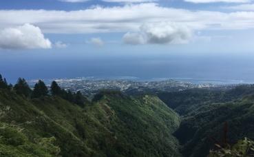 Vaimalama Chaves, la nouvelle Miss France, est née à Papeete à Tahiti. Photo (c) Anne-Sophie Leroy