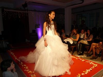 Une robe de mariée signée Widad Amri Photo (c) Islem Salmi