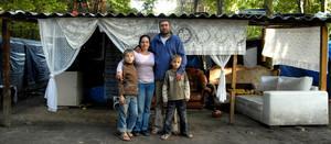 Campement de Roms en France en 2010 (c) Amnesty