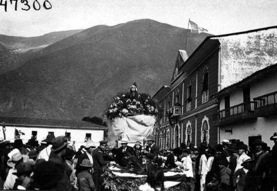 La fête de l'indépendance au Pérou, en 1923. Image d'archives (c) The Field Museum