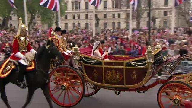 Mariage du Prince William et Kate Middleton: suivez la cérémonie en direct en vidéo!