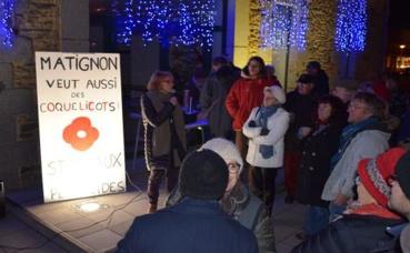 A Matignon, chaque vendredi, le collectif invitera les citoyens à refuser l'usage des pesticides. Photo (c) Cindy Giraud