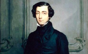 Alexis de Tocqueville a travaillé sur la face obscure des régimes démocratiques. (c) Huile sur toile de Theodore Chassériau (détail). Wikimedia Commons