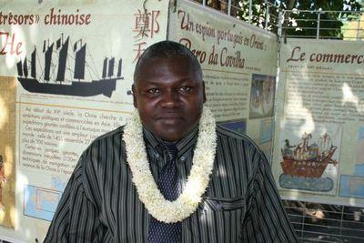 Saïd Ahamadi Raos, président de la commission coopération régionale et affaires européennes au conseil général (c) E. Tusevo-Diasamvu
