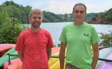 Serge Boivin (à gauche) et Alain Menant (à droite) - co-présidents. Photo (c) Frédérique Gelas