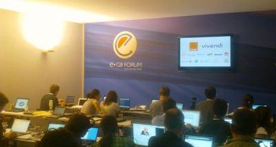 E G8 forum. Photo (c) Jean-Louis Courleux