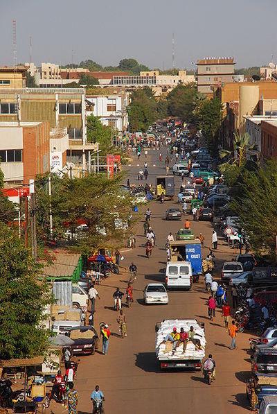 Centre ville de Ouagadougou, capitale du Burkina Faso (c) Martin Wegmann