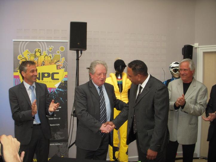 Signature partenariat avec Pierrick ROBERT CCI la Réunion (c) Jean-Louis Courleux