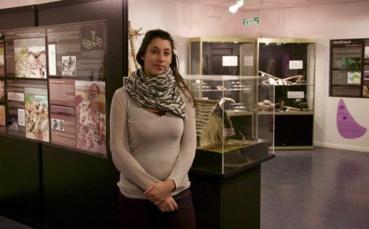 France Castel dirige le musée de la préhistoire depuis 9 ans. Photo (c) Arnaud Degenève