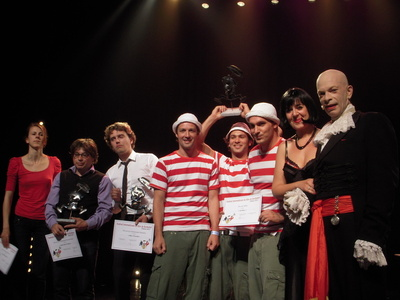 Nicole FERRONI,Jean-Lou de TAPIA, Alex VIZOREK, les STARBUGS, Maria DOLORES, Calixte de NIGREMONT Photo (c) Jean-Louis Courleux