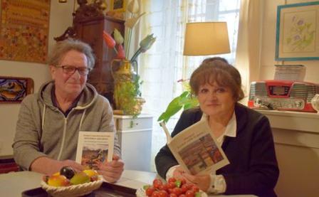 Jean-Paul et Maripol Graffard viennent de publier deux livres. Photo (c) Cindy Giraud