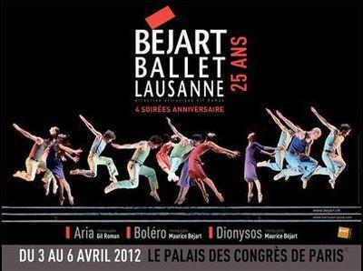 Le Béjart Ballet Lausanne fêtera ses 25 ans en 2012