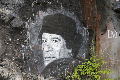 Mouammar Kadhafi (c) Abode of Chaos